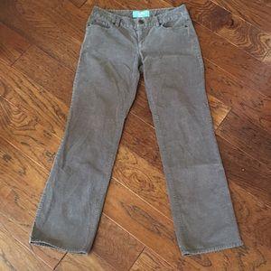 J. Crew Bootcut Cords Pants